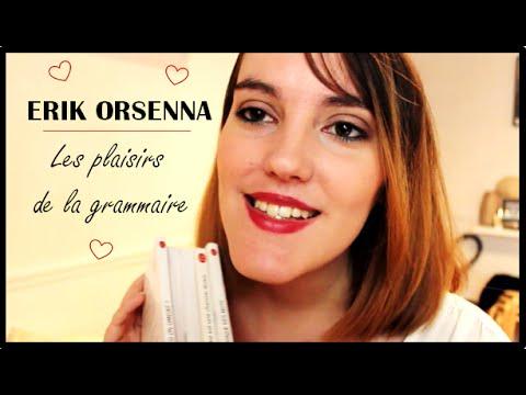 Erik Orsenna - Les plaisirs de la grammaire