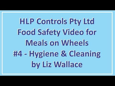 HLP Controls Meals on Wheels Course #4 - Hygiene and Cleaning
