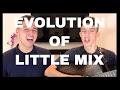 EVOLUTION OF LITTLE MIX - Jack and Joel