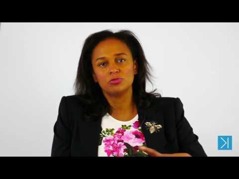 Isabel dos Santos interviewed by Movemeback @ LSE 2017