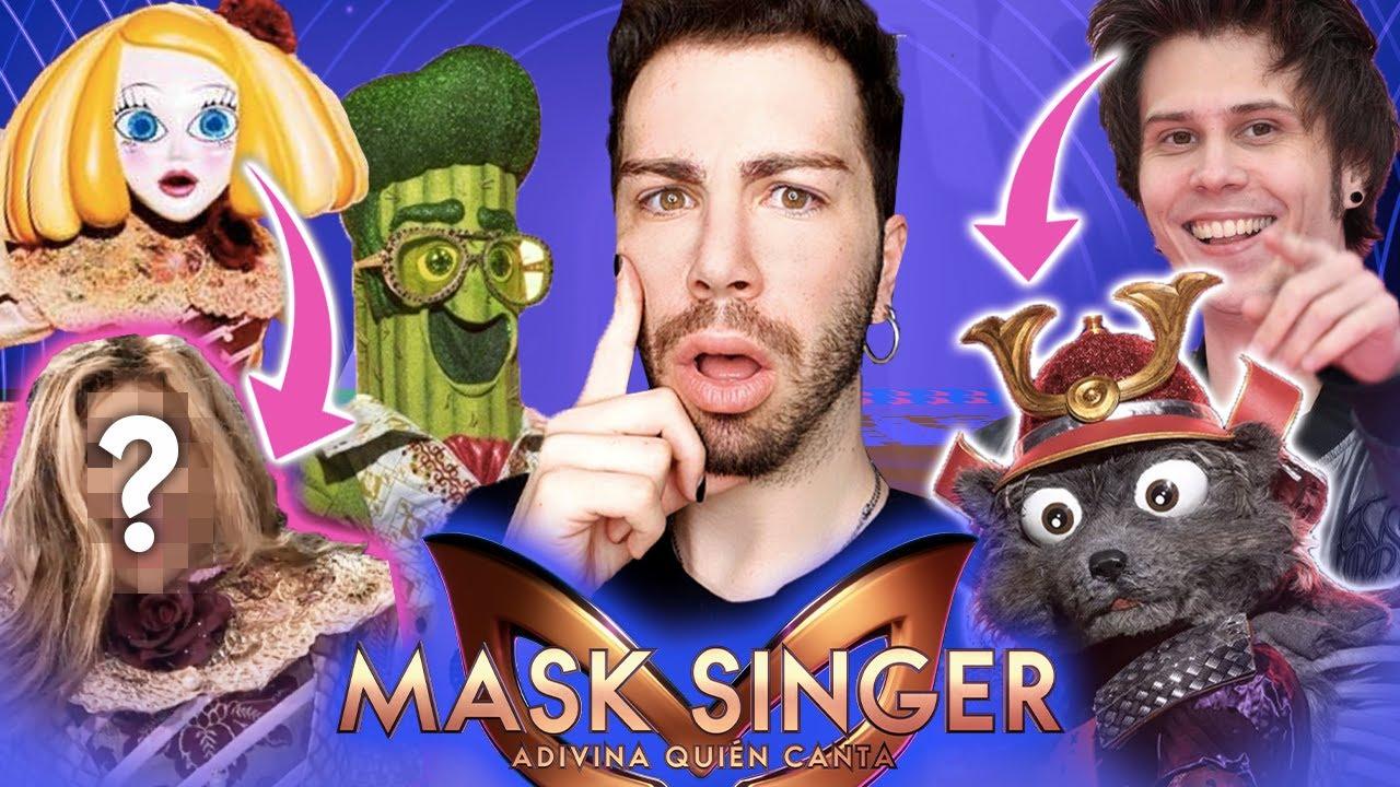 ¿El RUBIUS en MASK SINGER?😲 *GALA 1* | MALBERT DIRECTOS
