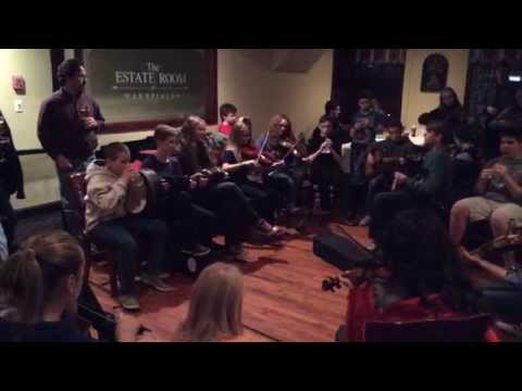 Session with Trad Youth Exchange Upstairs at Harrington's