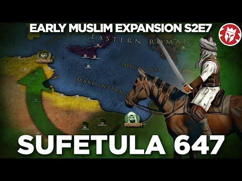 Beginning of Muslim Africa - Battle of Sufetula 647 DOCUMENTARY