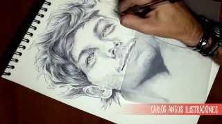 How to Draw Louis Tomlinson (Como dibujar a Louis Tomlinson)