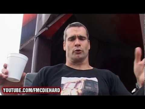 Full Metal Challenge co-presenter Henry Rollins (HQ)