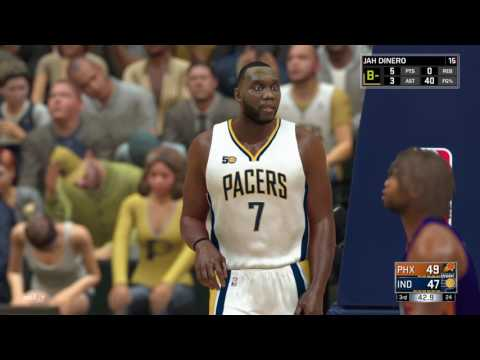 NBA 2K17 MyCareer Suns vs Pacers
