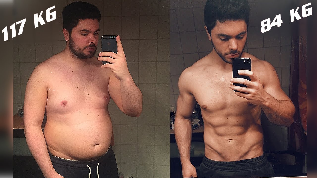 70kg吧_MY BODY TRANSFORMATION from 117 to 85 KG ! - YouTube