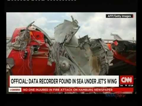 Divers found AirAsiaQZ8501 flight data recorder