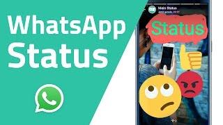 WhatsApp Status (Der alte Status wird zurückkommen!)(In diesem Video bekommst du alle Infos zum neuen WhatsApp Status Feature! Tipps für die Bedienung, warum WhatsApp dieses Update gemacht hat, meine ..., 2017-02-25T09:00:05.000Z)