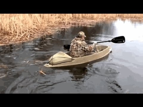 Duck Hunting Boats For Sale >> The Phantom Duck Boat - YouTube