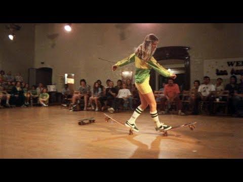 Ellen O'Neal as Jenny Bradshaw in Skateboard - the Movie (dir. George Gage, 1977).