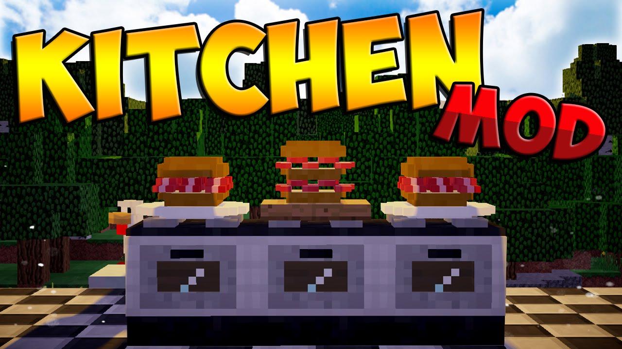 Mods Kitchen Mod Sandwiches Ovens Knifes More Minecraft