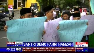 Aliansi Santri Jawa Timur Demo Kantor PKS