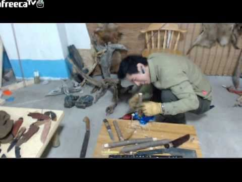 making bucksaw bowsaw bushcraft korea survival 탕개톱만들기