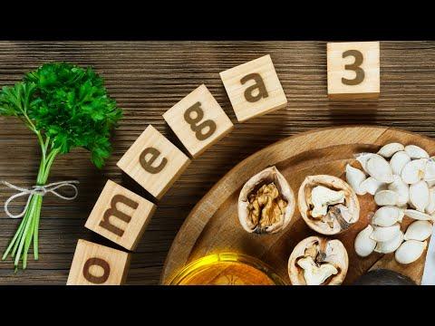 ОМЕГА-3 в РАСТИТЕЛЬНЫХ ПРОДУКТАХ: предотвращает старение, улучшает работу всего организма!