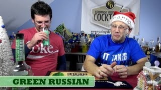 Christmas Cocktail: The Green Russian