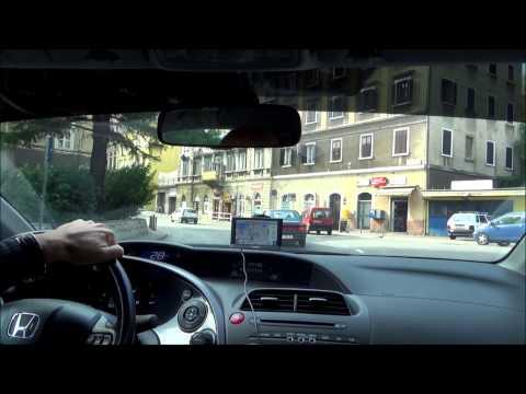 Driving through Rijeka - Croatia (Hrvatska)