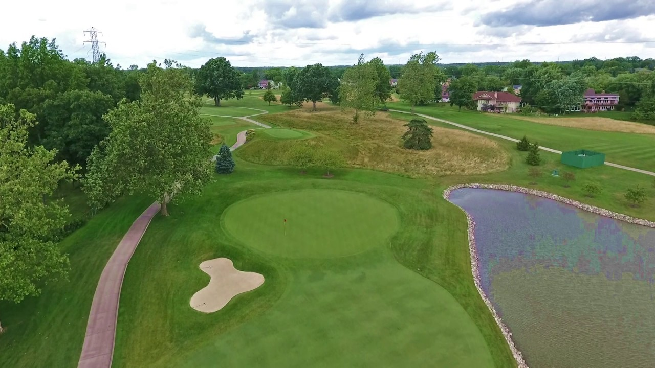 Pine Valley Country Club - Hole #3 Overview - YouTube