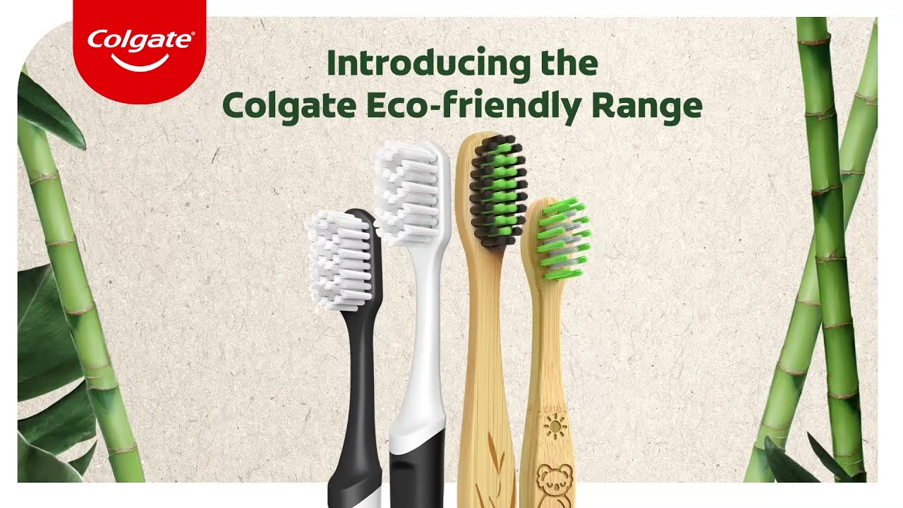 Introducing the Colgate Eco-Friendly Range