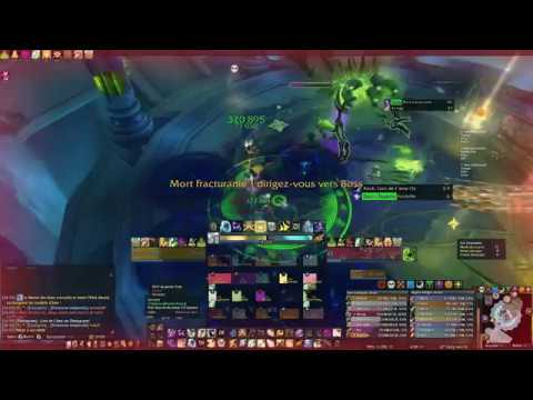 [Mythic] Desolate Host vs Timeless - Holy Priest PoV (Physical world)