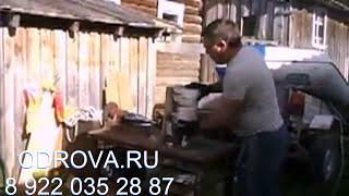 Винтовой конусный дровокол на мотоблоке 6 лс.