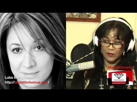 LUBA BALAGOVA INTERVIEW WITH RADIO DIAMOND'S MISS MOTIVATOR