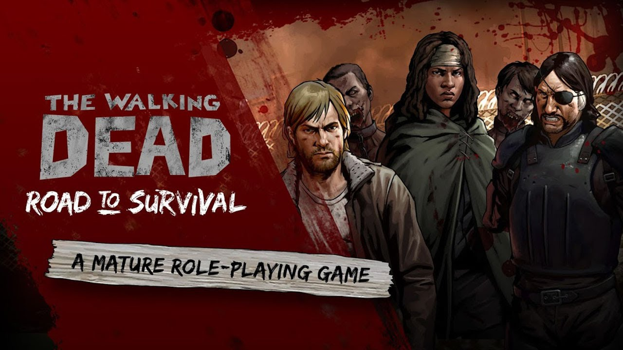 The walking dead road offline RPGs game for iPhone