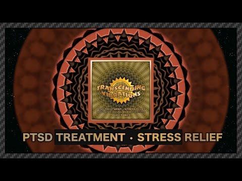Post Traumatic Stress Disorder (PTSD) Treatment and Stress Relief  Brainwave Meditation (Pure Tones)