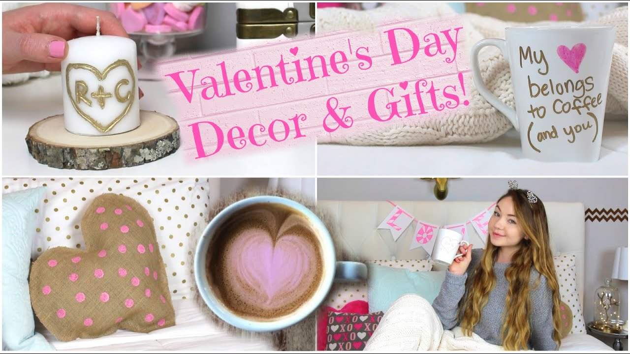 DIY Room Decor U0026 Gift Ideas: Valentineu0027s Day! | Meredith Foster   YouTube