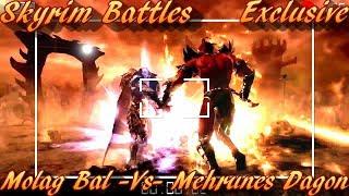 Skyrim Battles - Molag Bal vs Mehrunes Dagon [Legendary Settings]