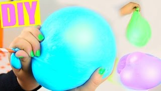 DIY Giant Flubber Bubbles! Reusable Bubbles!
