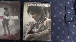 Tomb Raider Steelbooks Comparison {N.A. Vs. Eu.}
