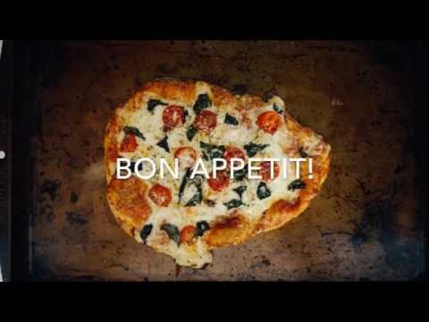 How to Make a Naan Flat Bread Margherita Pizza
