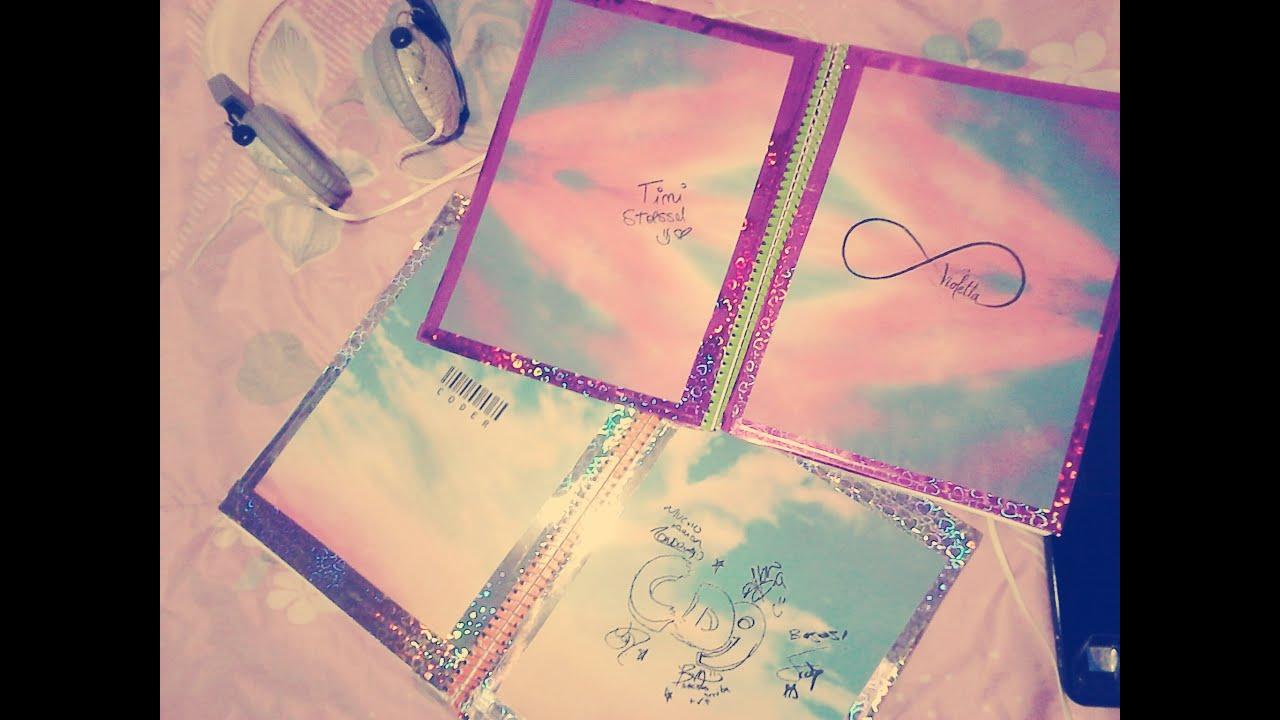 Portadas Para Cuadernos Decora Tus Libretas Con Dibujos: Decora Tus Cuadernos Con CD9 Y Violetta ;)