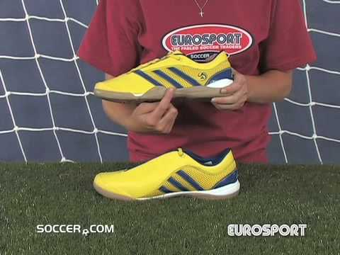 e226be964 adidas Top Sala VIII - Sun Collegiate Royal Indoor Soccer Sh - YouTube