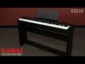 Piano de escenario Kawai ES110 video