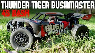Gambar cover THUNDER TIGER BUSHMASTER - High Flying BiG Bash Session. It's Awesome!