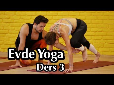 Evde Yoga Ders-3 | (Her Seviyeye Uygun)
