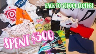 awkward back to school clothes shopping vlog! | Grade 10/2018