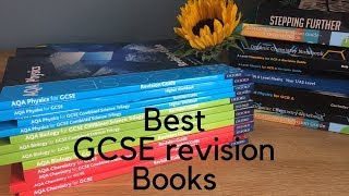 GCSE science book recommendations - Revision guide and workbooks + upcoming giveaway!!