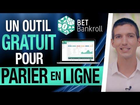 BET BANKROLL, un OUTIL GRATUIT pour PARIER en LIGNE !