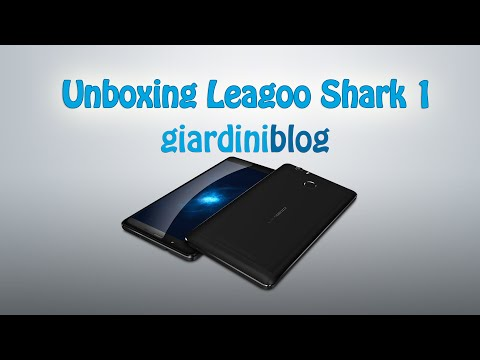 Unboxing Leagoo Shark 1