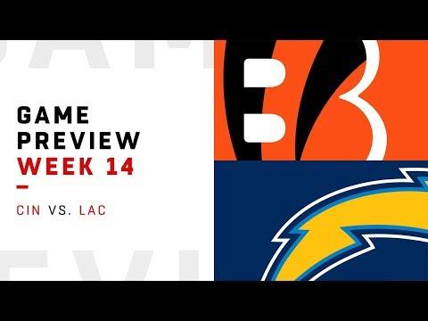 Cincinnati Bengals vs. Los Angeles Chargers | Week 14 Game Preview | NFL Playbook