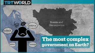 Does Bosnia have the most complicated political system in Europe?