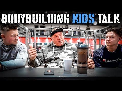 Heiko's Kids Talk - Das halten sie von Bodybuilding Youtube!