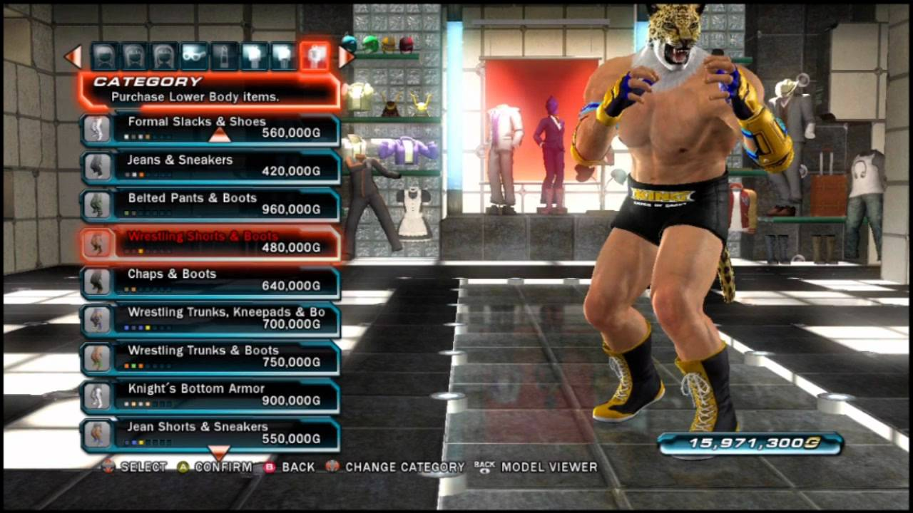 Tekken Tag Tournament 2 A Look At King S Clothing Items Youtube