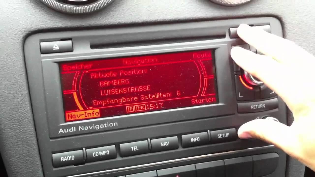 cd navigatore audi a4