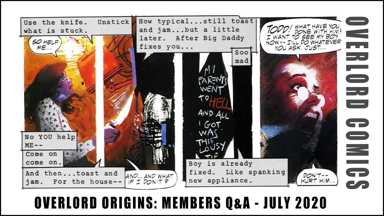 Overlord Origins: Members Q&A (July 2020)