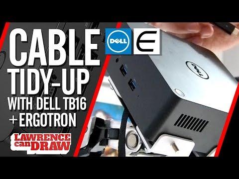 Ergotron Mounted - Dell Thunderbolt dock TB16 review