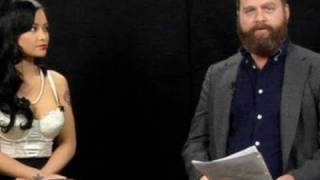 Repeat youtube video Jennifer Aniston & Tila Tequila: Between Two Ferns with Zach Galifianakis